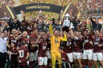 Flamengo o atual campeão da Conmebol e do Brasileiro 2019