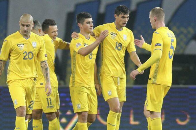 A seleção ucraniana perde mais três jogadores devido ao Covid-19