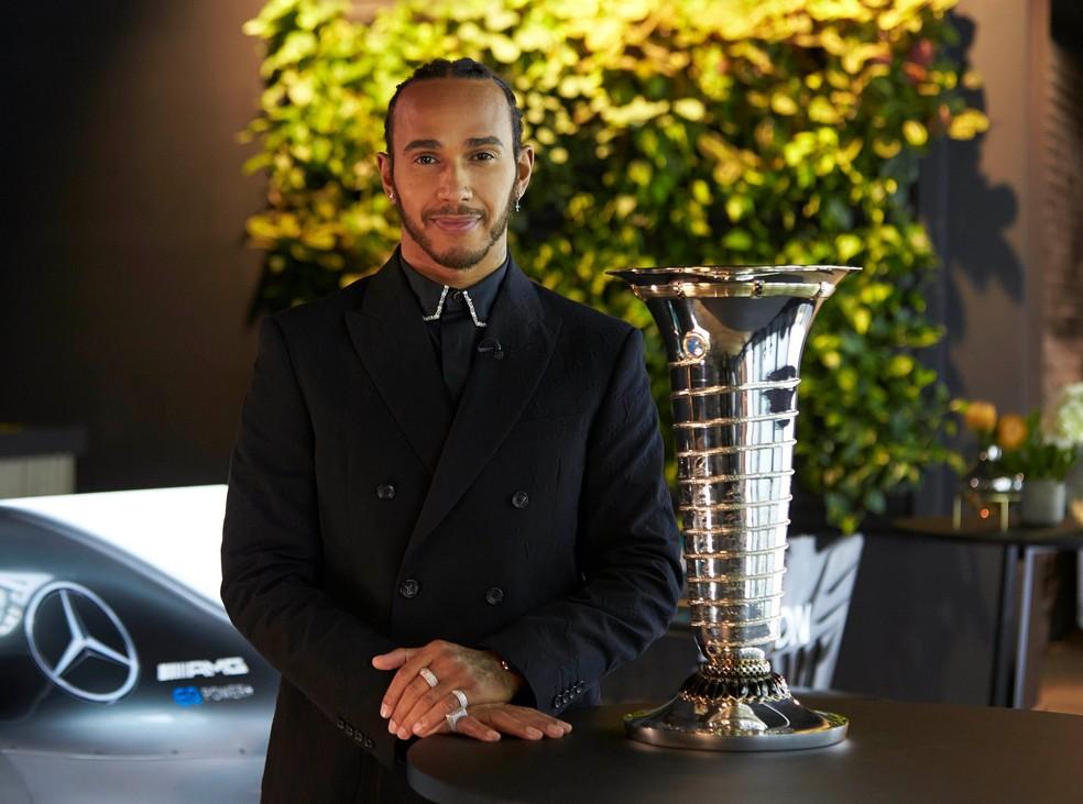 Personalidade do esporte do ano de 2020: Lewis Hamilton é ...