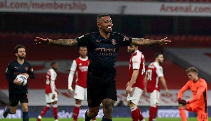 Manchester City empilhou a tristeza para o Arsenal