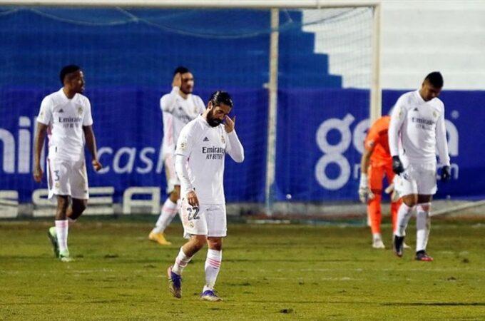 Real Madrid foi humilhado por Alcoyano, da terceira dividão, na Copa del Rey