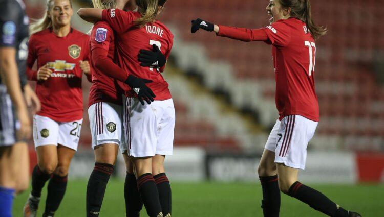 Man Utd chega ao topo da WLS com vitória sobre o Birmingham