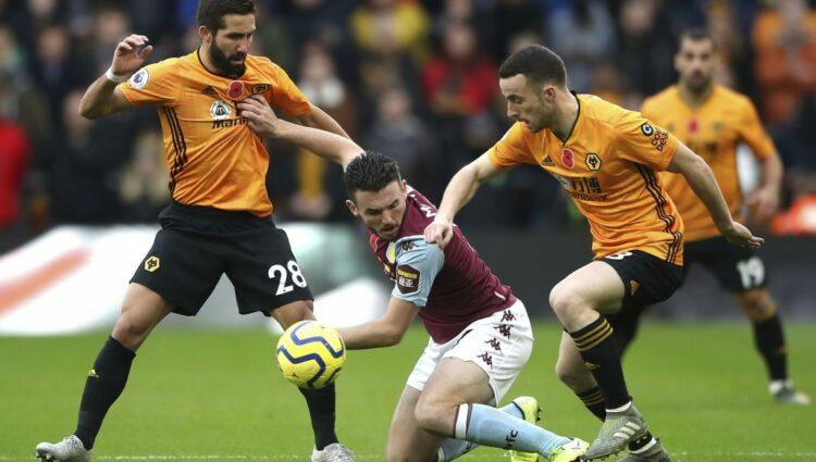 Aston Villa e Wolves em impasse no derby