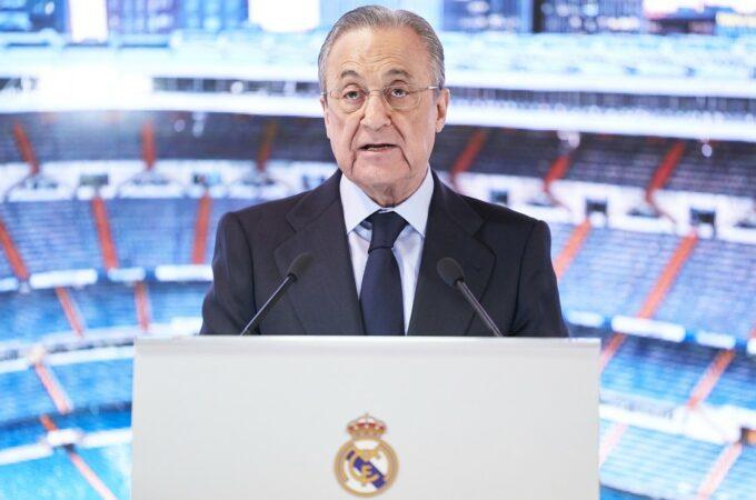 Superliga Europeia: Projeto está 'em espera', diz o presidente do Real Madrid, Florentino Perez