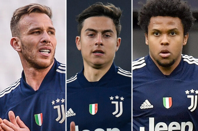 Paulo Dybala, Weston McKennie e Arthur caíram pela Juventus por violação de Covid