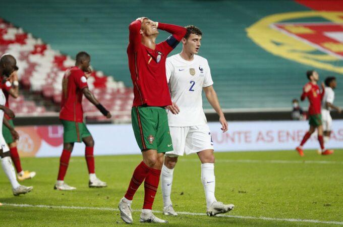 França lidera o grupo e Portugal segue com empate