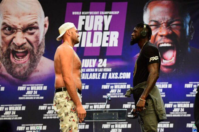 Fury v Wilder III: a luta continua, apesar do caso Covid-19 no acampamento do britânico