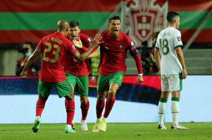 Cristiano Ronaldo quebra recorde internacional masculino com 110º e 111º gols