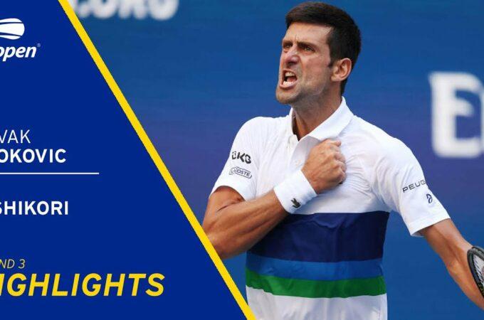 US Open: Novak Djokovic luta para vencer Kei Nishikori e chegar à quarta rodada
